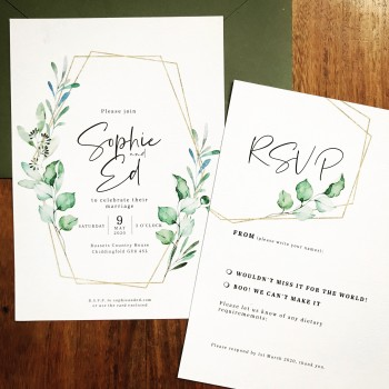 Eucalyptus Wedding Stationery